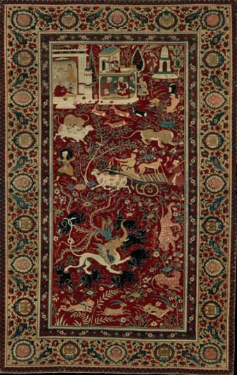 Ames Pictorial Animal Carpet